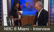 NBC 6 Miami Interview with Enrico Margaritelli