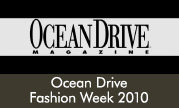 Ocean Drive Fashion Week 2010
